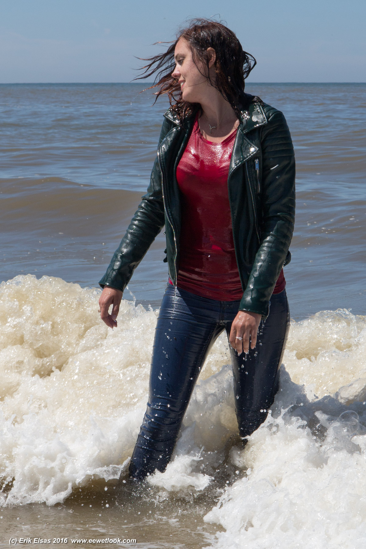 Can leather jackets get wet