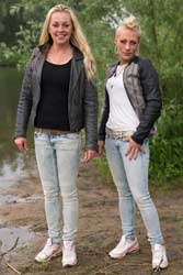 0866-v1 Movie (incl. 4K) and images of Lindsey and Jacqueline